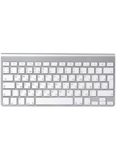 Tastatura Wireless Apple MC184RS/B, Bluetooth, Silver