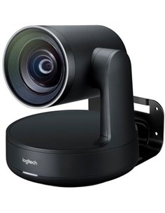 LOGITECH Rally Ultra-HD ConferenceCam - BLACK - USB - PLUGC - EMEA - DUAL SPEAKER EU