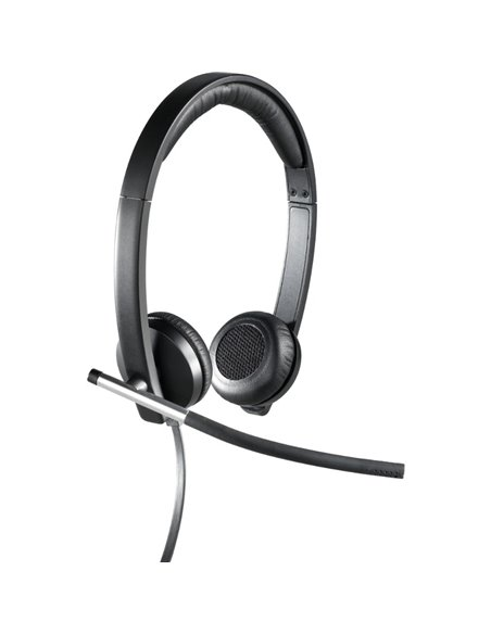 Casti Office/Call Center Logitech H650e Stereo