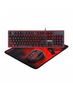 Kit tastatura si mouse Redragon S107 Gaming Essentials 3 in 1