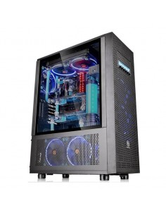 Carcasa Thermaltake Core X71 Tempered Glass neagra