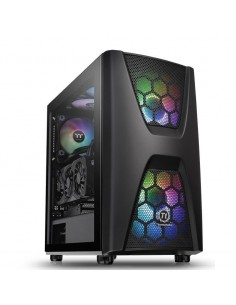 Carcasa Thermaltake Commander C34 Tempered Glass ARGB neagra