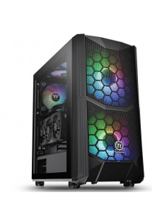 Carcasa Thermaltake Commander C35 Tempered Glass ARGB neagra