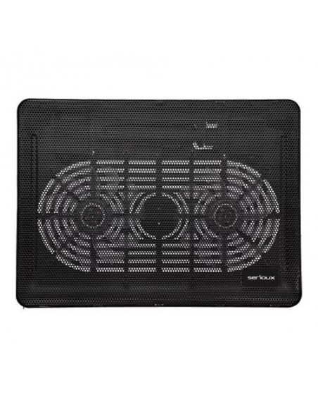 Cooler Pad Serioux NCP007, 15inch, Black