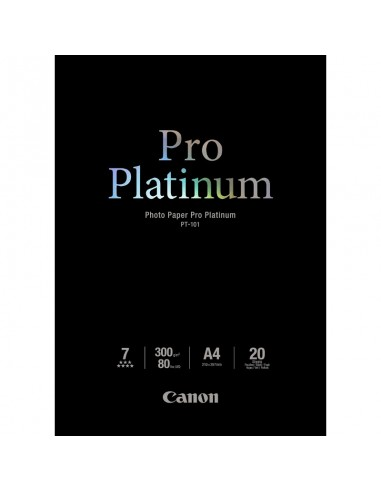 Hartie Canon PT-101 Photo Paper Pro Platinum A4 20 coli