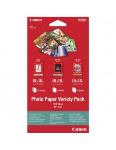 Hartie Canon VP101S Photo Variety Pack 10X15 cm 20 coli