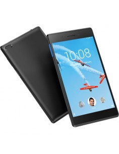 Tableta Lenovo Tab E7 TB-7104I, 7 inch Multi-touch, Cortex-A7 1.3 GHz Quad Core, 1GB RAM, 16GB flash, Android 8.0, Slate black
