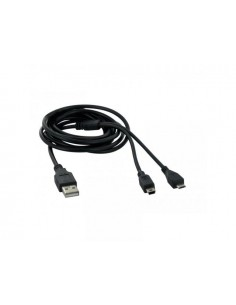 TNB USB to miniUSB & MicroUSB CABLE 2M