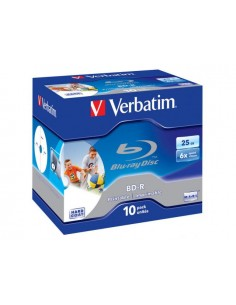 Verbatim  BD-R 6X 25GB PRINTABLE JC