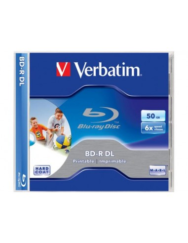 Verbatim  BD-R DL 50GB 6X PRINTABLE JC