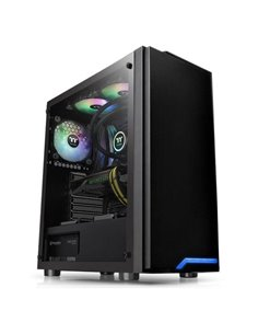Carcasa Thermaltake H100 Tempered Glass neagra