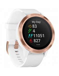 Smartwatch Garmin Vivoactive 3, White-Rose Gold