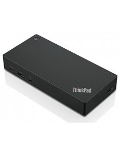 Docking Station Lenovo ThinkPad, USB-C, Black