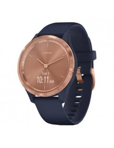 SmartWatch Garmin Vivomove 3S Sport, 0.8 inch, Curea silicon, Blue-Gold