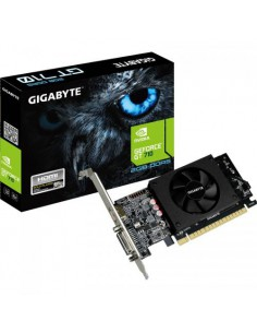 Placa video Gigabyte nVidia GeForce GT 710 2GB, DDR5, 64bit, Low Profile