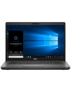 Laptop DELL 14'' Latitude 5401 (seria 5000), FHD, Intel Core i5-9300H, 8GB DDR4, 256GB SSD, GMA UHD 630, Win 10 Pro, Black