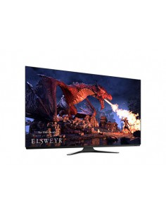 """Monitor LED gaming 54.6"""", Dell Alienware AW5520QF, OLED, negru"""