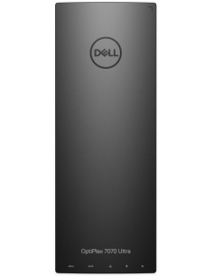 Mini Desktop PC Dell OptiPlex 7070 UFF, Intel Core i5-8365U, Whiskey Lake, 16GB RAM, 256GB SSD, UHD Graphics 620, Linux, Negru
