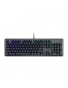 Tastatura mecanica gaming, RGB LED, USB, neagra, Cooler Master CK550 Gateron Brown