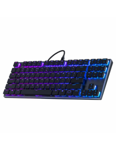 Tastatura mecanica gaming, RGB LED, USB, neagra, Cooler Master SK630 Cherry MX Low Profile
