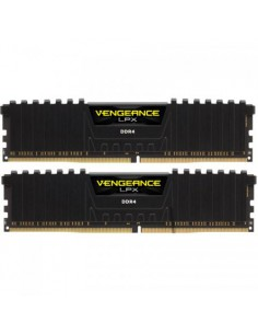 Memorie Corsair Vengeance LPX Black, 32GB, DDR4-3200MHz, CL16, Dual Channel