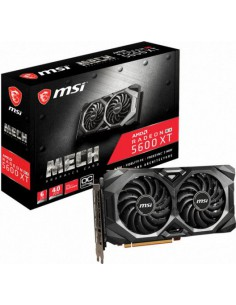 Placa video MSI Radeon RX 5600 XT MECH OC 6GB, GDDR6, 192-bit