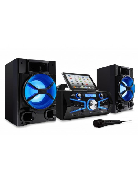 Sistem Karaoke Akai KS-5600BT 2x50W Rms, Microfon, Bluetooth, CD, FM/Digital Radio