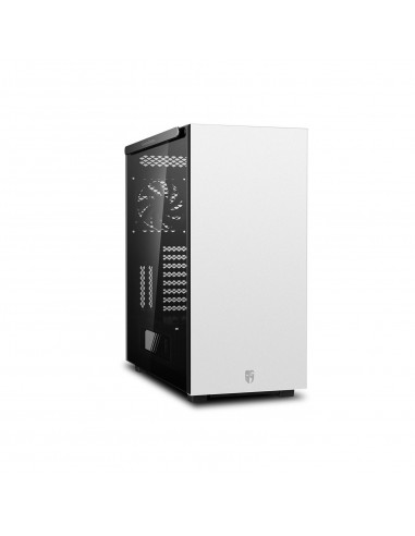 Carcasa PC DeepCool Full-Tower E-ATX - MACUBE 550 WH, alba