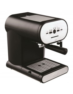 Espressor manual Heinner Soft Cream HEM-250, 1050W, 15 bar, 1l, negru