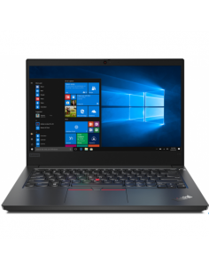 Laptop Lenovo ThinkPad E14, i5-10210U, 14inch, RAM 16GB, SSD 512GB, Intel UHD Graphics, Win10 Pro, negru