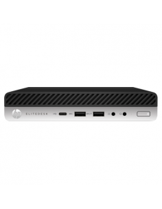 Desktop PC HP EliteDesk 800 G5 SFF, Intel Core i5-9500, RAM 8GB, SSD 256GB, Intel UHD Graphics 630, Windows 10 Pro, negru