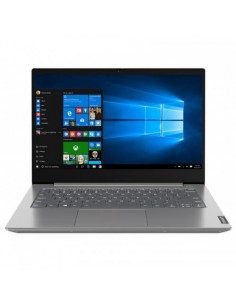 "Laptop Lenovo ThinkBook 14-IIL, Intel Core i5-1035G1, 14"", RAM 8GB, SSD 256GB, Intel UHD Graphics, Windows 10 Pro, gri"
