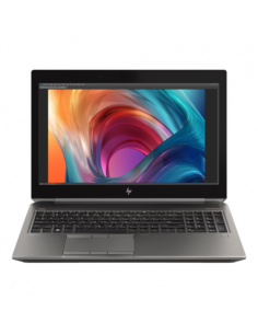"Laptop HP ZBook 15 G6, Intel Core i7-9750H, 15.6"", RAM 16GB, HDD 1TB + SSD 512GB, nVidia Quadro T2000 4GB, Win10 Pro, gri"