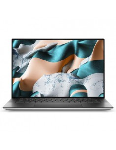 "Ultrabook Dell XPS 15 (9500), Intel Core i7-10750H, 15.6"" Touch, RAM 32GB, SSD 1TB, GeForce GTX 1650 Ti 4GB, Win10Pro, argintiu"