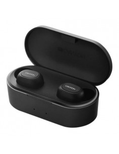 Casti Bluetooth Canyon, Stereo, Microfon, Battery EarBud, Graphite Black