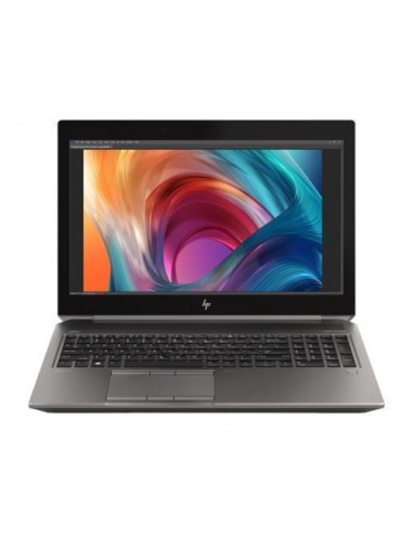 "Laptop HP ZBook 15 G6, Intel Core i9-9880H, 15.6"", RAM 16GB, SSD 512GB, nVidia Quadro T200 4GB, Win10 Pro, gri"