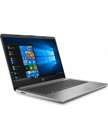 "Laptop HP 340S G7, Intel Core i5-1035G1, 14"", RAM 8GB, SSD 256GB, Intel UHD Graphics, Win10 Pro, gri"