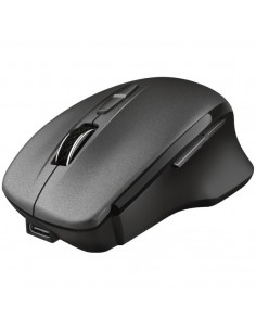 Mouse Optic Trust Themo Rechargeable, USB Wireless, negru