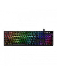Tastatura Kingston HyperX Alloy Origins Aqua Switch, RGB LED, USB, neagra