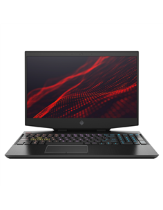 "Laptop HP OMEN 15-dh1005nq, 15.6"" FHD, Intel Core i7-10750H, RAM 16GB, HDD 1TB + SSD 512GB, GeForce GTX 1660Ti, Free DOS, negru"