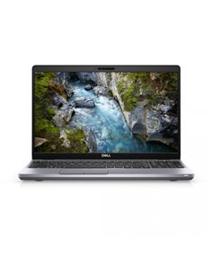 "Laptop Dell Precision 3551, 15.6"" FHD, Intel Core i9-10885H, RAM 8GB, HDD 1TB + SSD 256GB, nVidia Quadro P620, Linux, negru"