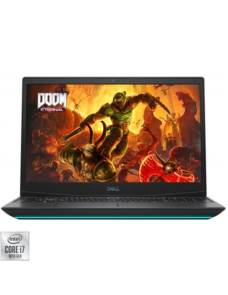 "Laptop Dell Inspiron G5 5500, 15.6"" FHD 144Hz, Intel Core i7- 10750H, RAM 16GB, SSD 1TB, nVidia GeForce RTX 2070, Win10, negru"