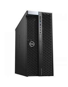 Desktop PC Dell Precision 5820 Tower, Intel Core i9-10980XE, RAM 16GB, SSD 1TB, nVidia Quadro RTX 4000 8GB, Linux, negru