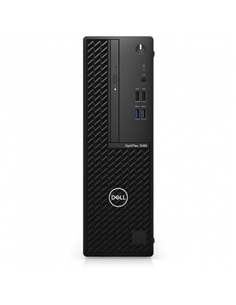 Desktop PC Dell OptiPlex 3080 SFF, Intel Core i5-10500, RAM 16GB, HDD 1TB + SSD 256GB, AMD Radeon RX 640 4GB, Linux, negru