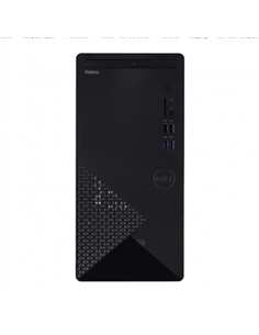 Desktop PC Dell Vostro 3888 MT, Intel Core i3-10100, RAM 8GB, HDD 1TB, Intel UHD Graphics 630, Windows 10 Pro, negru