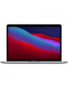 """Laptop Apple New MacBook Pro 13 (Late 2020) Retina with Touch Bar, Apple M1 Chip Octa Core, 13.3"""", RAM 8GB, SSD 256GB, SpaceGrey"""