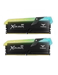 Kit Memorie TeamGroup T-Force XCALIBUR RGB General Edition, 16GB, DDR4-3600MHz, CL18, Dual Channel