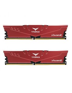 Kit Memorie TeamGroup T-Force Vulcan Z Red 64GB, DDR4-3200MHz, CL16, Dual Channel