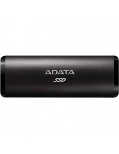 SSD extern Adata SE760 metal, 512GB Type-C, up to 1000MB/s, multiplatform, cable Type-C-C, cable Type-C-A, Negru