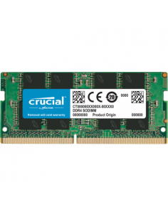 Memorie SO-DIMM Crucial 8GB, DDR4-3200Mhz, CL22
